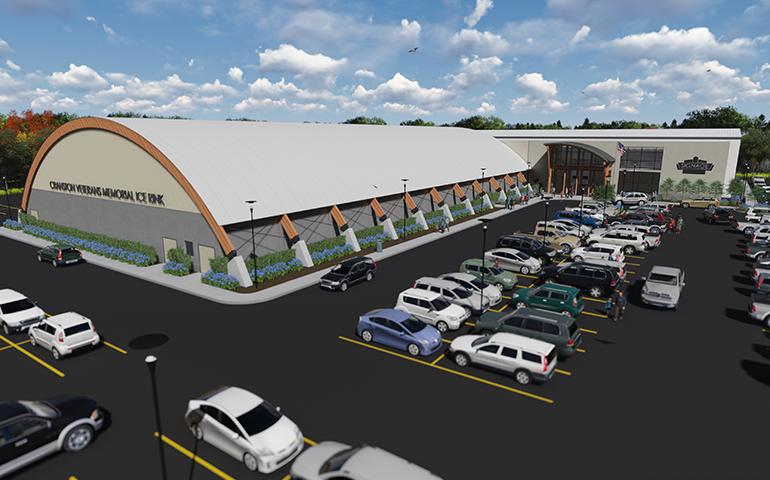 1624 – Cranston Sports Complex – Aerial 03 – Reduced