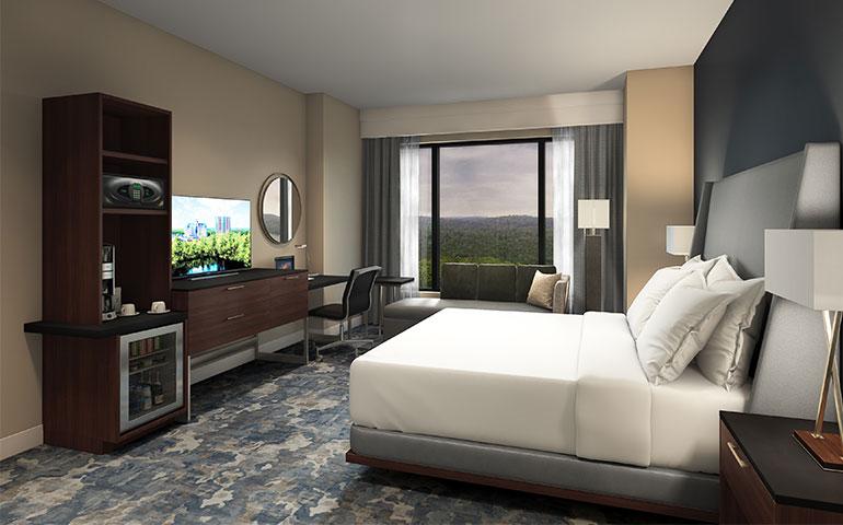 FoxTower Guestroom ZDS Architecture & Interior Design Planning