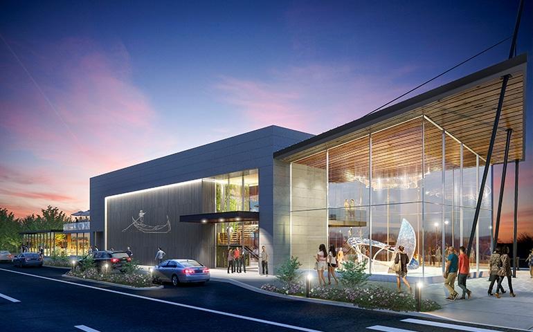 ZDS Architecture & Interior Design Parcel Building Exterior